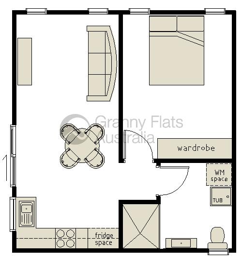 1 Bedroom Granny Flat Granny Flats Australia